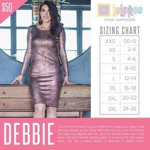 LuLaRoe Dresses - Lularoe elegant Debbie dress